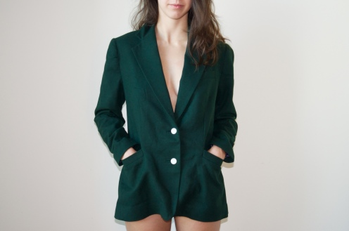 Front View of Blazer